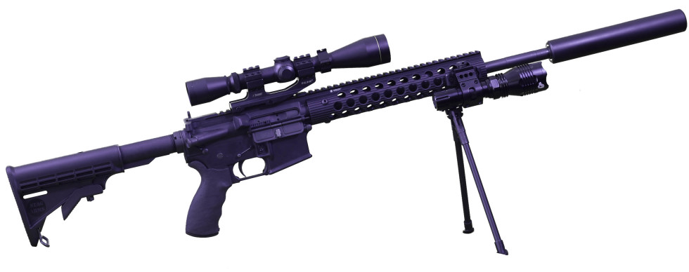 BPG-1 Ar-15 side